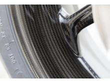 BMW S 1000 RR carbon wheels