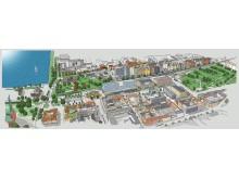 Visionsbild Växjö statsionområde