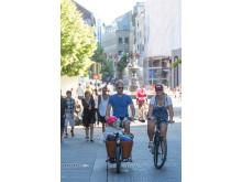 Klimafreundliche Fortbewegung – Oslo hat sich in den letzten Jahren zu einer echten Fahrradstadt entwickelt.