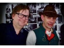 Finn Tokvam og Leif Einar Lothe/Lothepus (foto: Poul Iversen)