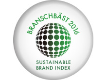 Branschbäst Sustainable Brand Index 2016