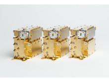Mikrovågsutrustning till telekomsatelliten Amazonas 5