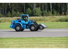 Volvo L60G PCP vid världrekordförsöket på Eskilstuna Flyplats den 11 september