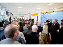 Charlotte Ljunggren inviger utrikes avgångshall på Göteborg Landvetter Airport