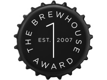 Logga The Brewhouse Award, svart