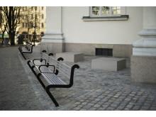 Gustaf Vasa kyrka - omfattande sten- och markarbeten har gjorts