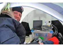 Feltlaboratorium på Grønland