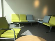Almunge vårdcentral, väntrum