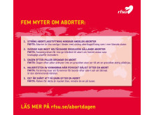 Fem myter om abort