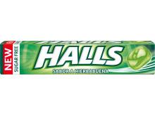 Nuevos Halls hierbabuena