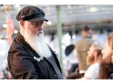 Kenneth Johnsson, domare i Copenhagen Barber Battle 2019