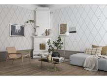 Wallpaper Robin 436-01/ design: Lotta Kvist