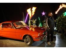 Tinder och Mustang