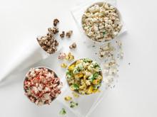 Popcorn maker för mikron 3 skålar och strut