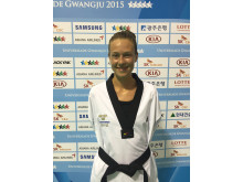 Nikita Glasnovic bronsmedalj Universiad Gwangju 2015 taekwondo