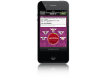 WalkMeHome - Alarm (iPhone)