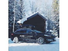 Sportlovsfirare får gratis skjuts i nya Ford Mondeo Vignale