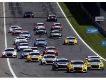 Audi Sport TT Cup Spielberg 2015 start race 1