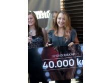 Vinnaren Hanna Lundh