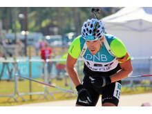 NM rulleskiskyting 2015 sprint Emil Hegle Svendsen