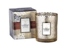 Gilt Pomander & Hinoki -  Boxed Scalloped Candle
