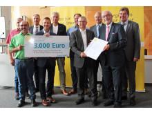 Bürgerenergiepreis Unterfranken 2017: Wasserkraftanlage Bischbach