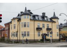 Det renoverade jugendhuset kv Tingshuset 13.