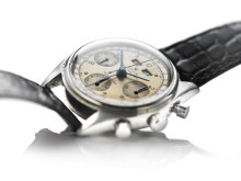 "Rolex: Model Dato-Compax Chronograph ""Jean-Claude Killy"".  Vurdering: 1 mio. kr."