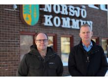 Anders Sundin och Stefan Arebratt, Trafikverket