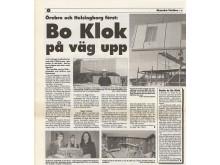 Artikel i Skanskas interntidning, 1997, om de allra första BoKlok-projekten.