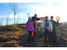 Frisbee-golf - en aktivitet for hele familien