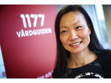 Kim Nordlander, chef för 1177 Vårdguiden