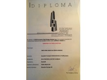 Diplom - Award for Steel Structures - EUROPEAN CULTURAL HERITAGE