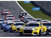 Audi Sport TT Cup Spielberg 2015 - Audi TT cup #17, Nicolaj Møller Madsen pole position