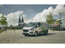 Transit Custom PHEV og Tourneo Custom PHEV test Køln 2019