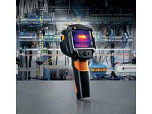 Eltermografering med Testo 870-1 värmekamera
