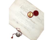 Medaljen for Ædel Daad / Pro Meritis, 1771. Vurdering: 50.000 kr.