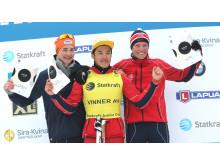 Statkraft Junior Cup sammenlagtvinnere menn 17 år