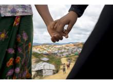 Vänskap viktig för flickor i rohingyakrisen