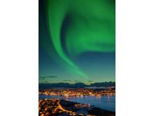 Das Nordlicht, Winterattraktion vieler Konferenzen im nordnorwegischen Tromsø