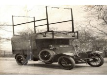 First flying squad car