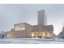 Schneider Electric tar Skellefteå Kulturhus - väldens högsta trähus