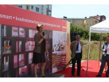 Drömplank Kvarnbergsplan - Cecilia Ehrenborg Williams, vice VD Miljömärkning Sverige som ansvarar för Svanen och EU Ecolabel
