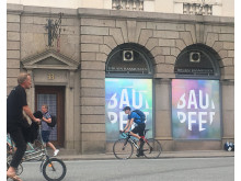 Facaden hos Bruun Rasmussen i Bredgade 33, København
