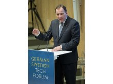 Stefan Löfven beim German Swedish Tech Forum