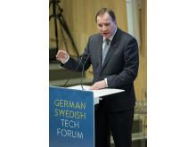 Stefan Löfven beim German Swedish Tech Forum