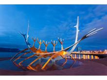 LOS-tur til Island: skulptur