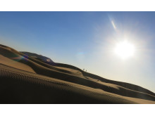 Sahara Desert before sunset_Source Picture Alliance