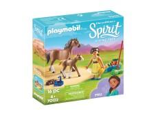 Pru mit Pferd und Fohlen von PLAYMOBIL (70122)