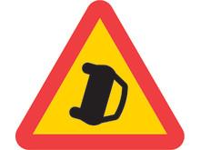 A41 Varning för olycka